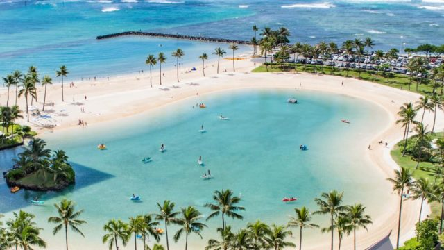 ハワイ ビーチのイメージ