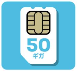 FUJI Wifi SIM50ギガプラン
